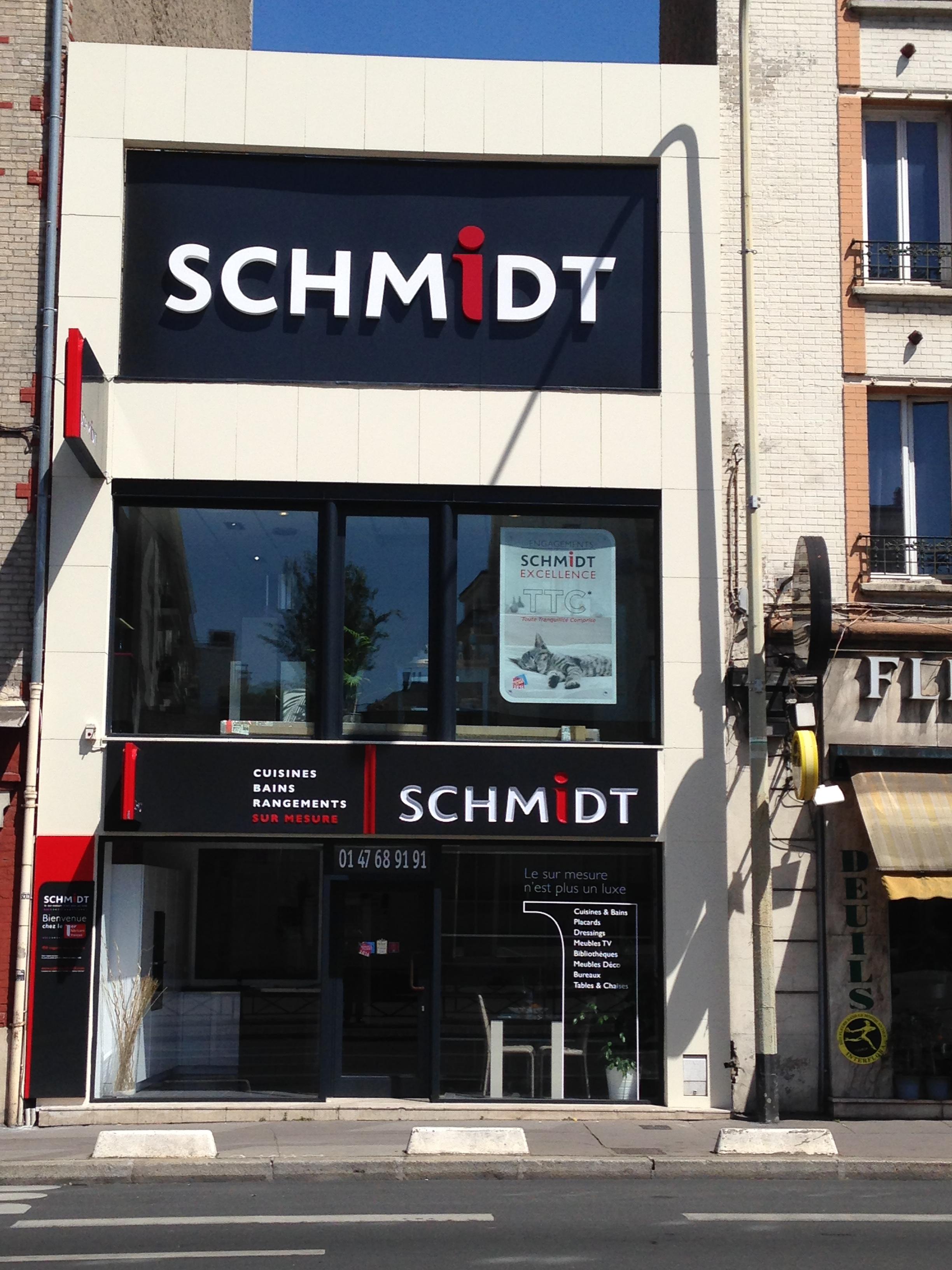 Votre magasin schmidt courbevoie – cuisines, rangements, salles de ...